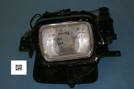 1984-1996 Corvette C4 RH Headlamp Assembly LH Dip, Used Good